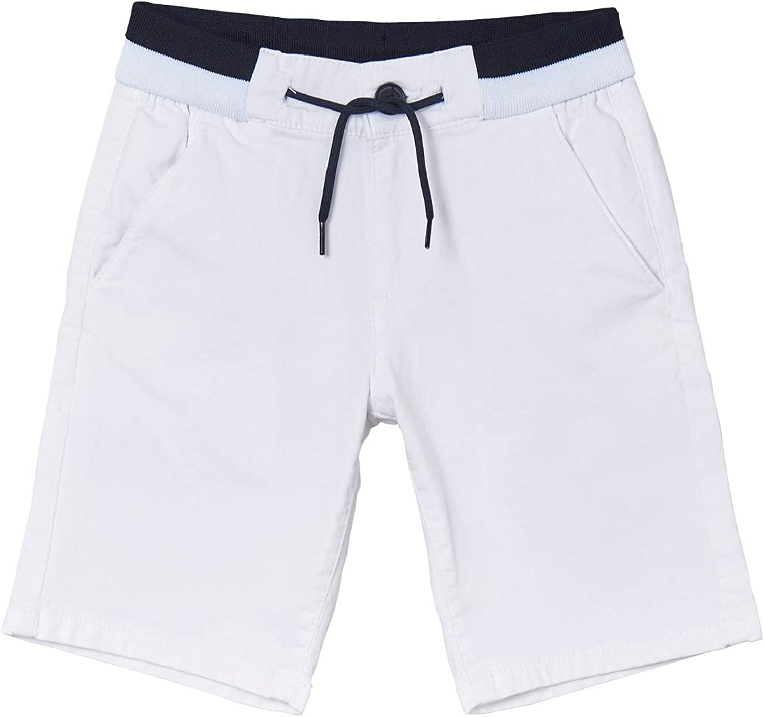 Mayoral - Structured Shorts Boys Large-scale Bombing new work sale White for 6289