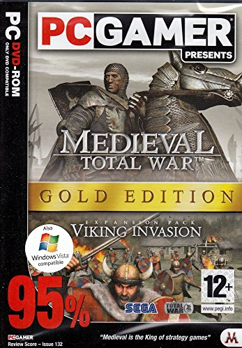 Medieval: Total War - Gold Edition (PC DVD) - [UK Import] [Windows XP]