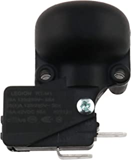E-outstanding Tip Over Switch AC 125V/250V 16A Micro Electrical Patio Heater Tip Over Switch Dump Switch with Two Terminals