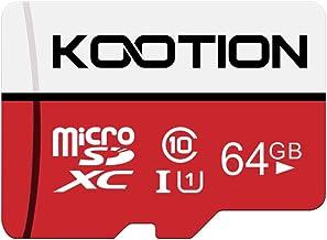 Kootion Speicherkarte 64GB Class 10 Micro SD Karte Mini SD Karte 64G MicroSDXC Card..