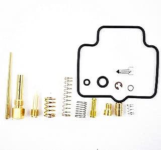 labwork Carb Rebuild Kit Carburetor Repair 2002,2003,2004,2005,2006,2007,2008,2009,2012 for Suzuki Ozark 250 LT-F250