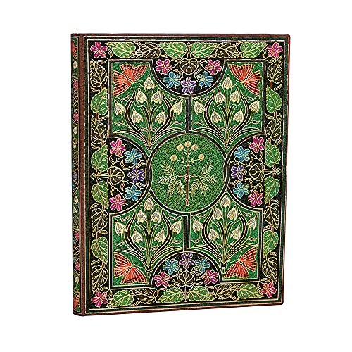 Paperblanks Cuadernos de Tapa Blanda Flexi Poesía en Flor | Rayado | Ultra (180 × 230 mm) (Flexis)