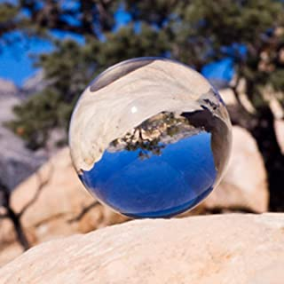 Amlong Crystal 2 inch (50mm) Clear Crystal Ball ONLY - No Stand