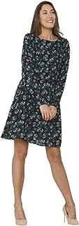 VERO MODA Women's Shift Midi Dress