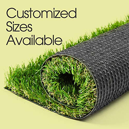 AYOHA Artificial Turf 5' x 14' Realistic Synthetic Grass, 1.38