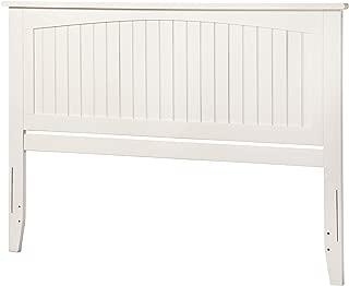 Atlantic Furniture Nantucket Headboard, King, White