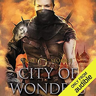 City of Wonders audiobook cover art