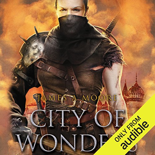 City of Wonders audiobook cover art