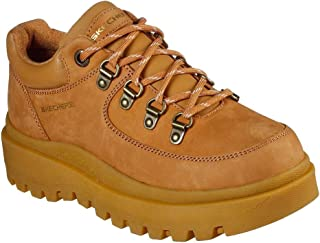 Skechers Shindigs Cool Out Womens Wheat Yellow Trainers-UK 8 / EU 41