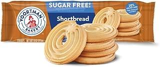 Voortman Bakery Sugar Free Cookies, Delicious Sugar Free Cookie, Pack of 4 (Sugar Free Shortbread Swirl)