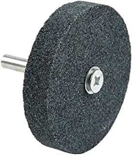 60 Grit Lincoln Electric KH105 Mounted Grinding Wheel 1 Diameter x 1 Width Aluminum Oxide Black 3450 RPM Pack of 3