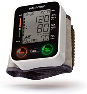 Automatic Wrist Blood Pressure Monitor by Paramed:Blood-Pressure Kit of Bp Cuff + 2AAA..
