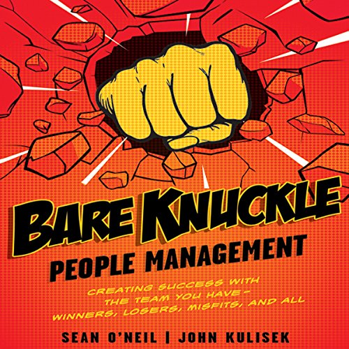 Bare Knuckle People Management audiobook cover art