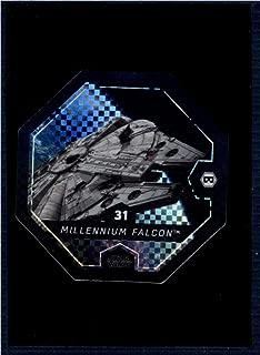 2017 Winn Dixie Star Wars Cosmic Shells Foil #31 Millenium Falcon