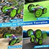Remote Control Car, 2.4Ghz RC Cars for Adults Race Stunt RC Car Monster Trucks for Boys, 4WD Double Sided 360° Rotating RC Trucks with Headlights, Toy Cars for Kids Gifts for Boys Girls #3