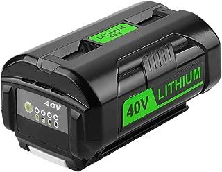 40 volt battery