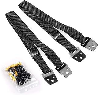 Yeglg Baby veiligheid metalen tv-banden, anti-tip tv/meubelriemen zware riem en kunststof onderdelen, bevestigingen voor a...