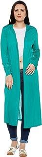 LE BOURGEOIS Women's Hooded Long Shrug
