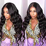 Body Wave Bundles with Closure 9A Brazilian Remy Human Hair Body Wave (10 12 14+8 Three Part) Unprocessed Brazilian...