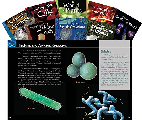Life Science Set (Science Readers) (Teacher Created Materials Library Set)