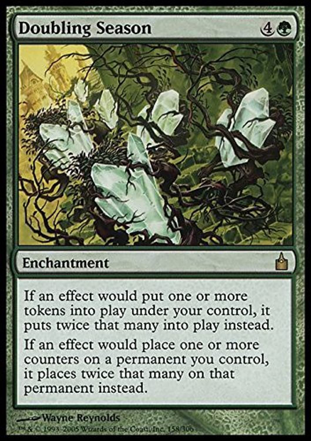 Magic  the Gathering - Doubling Season - Ravnica by Magic  the Gathering
