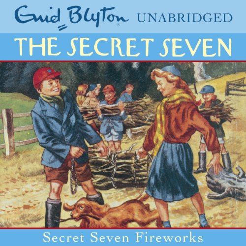 Secret Seven: Fireworks cover art