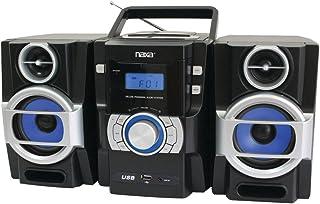 مشغل أقراص CD/MP3 المحمول من ناجا اكسA NPB429 مع راديو PLL FM، سماعات قابلة للفصل وأجهزة كمبيوتر عن بعد، والإلكترونيات، وا...