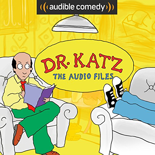 Dr. Katz: The Audio Files audiobook cover art