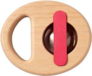 Manhattan Toy Musical Shapes Tambourine Wooden Toddler Instrument Toy