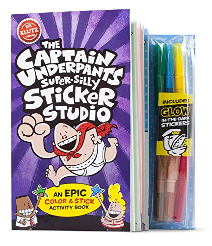 Klutz The Captain Underpants Super-Silly Sticker Studio