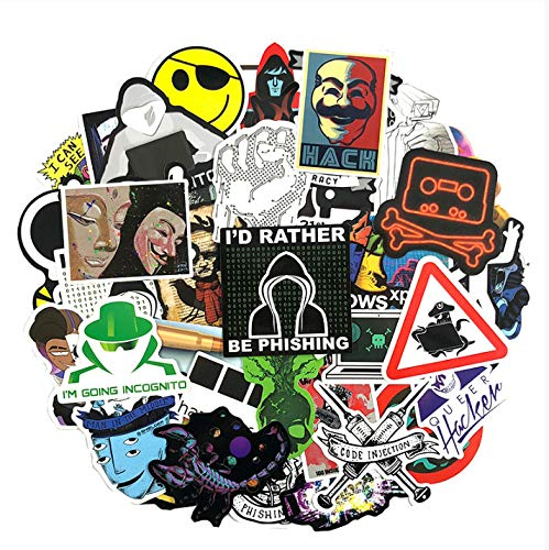 SUNYU Programming Stickers Geek Hacker Stickers for Luggage Laptop Notebook Motorcycle Sticker Skateboard Toy 123pcs/pack