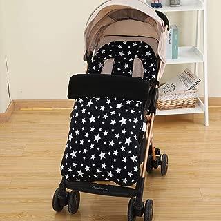 perfecthome Universal Baby Stroller Warm Foot Cover, Baby Sleeping Bag Otoño e Invierno Umbrella Car Windproof Foot Cover Anti Kicking Fleece