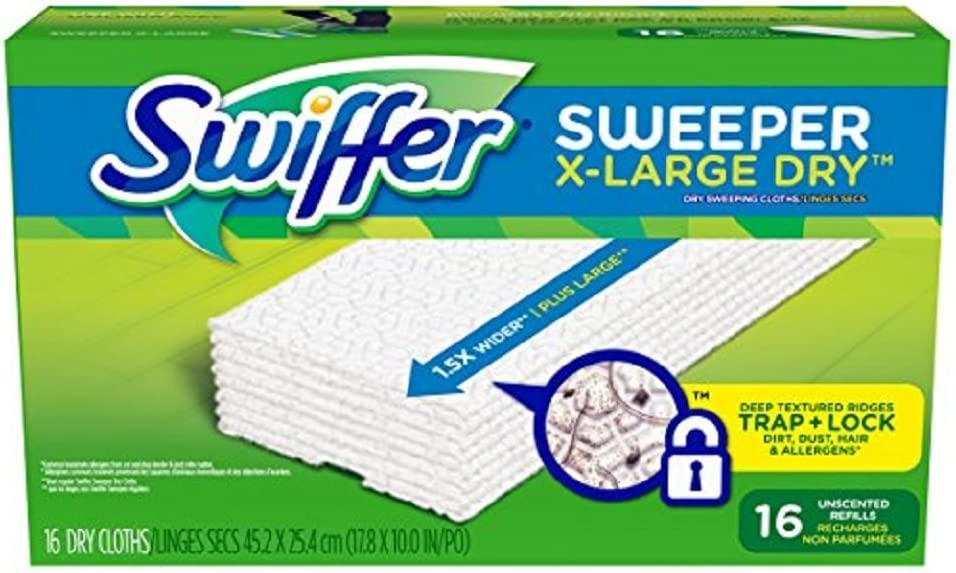 Swiffer Rare Sweeper XL Dry Sweeping Pad Refills Unscen Clearance SALE Limited time Floor for mop