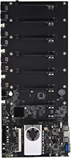 D DOLITY Btc-37 Mining Machine Motherboard CPU Group 8 Video Card Slots VGA Interface