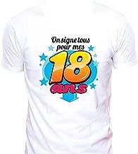 6570 jours mais qui compte.. 18th Anniversaire Cadeau T-Shirt