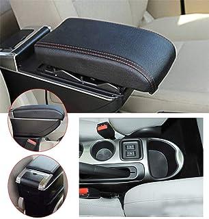wuwenjun 4 Pezzi Adesivi per Protezioni per Protezioni per battitacco sottoporta per Nissan Juke in Pelle PU in Fibra di Carbonio
