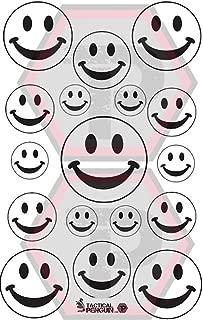 Tactical Penguin Smiles 1 stencil for cerakote, gunkote, duracoat Avery paint mask sticky back vinyl