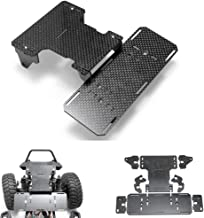 RCLions Front Battery Holder Carbon Fiber Chassis Battery Mount for Axial SCX10 Refit Parts