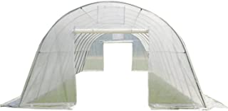 Delta Greenhouse 33'x13'x7.5' Clear - Heavy Duty Walk-in Green House Hothouse Canopies