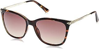 GUESS Unisex Adults' GU7483 56G 56 Sunglasses, Brown (Avana)