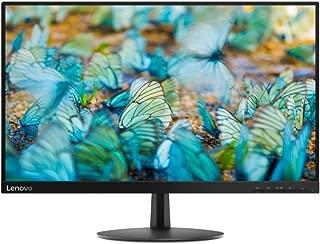 Lenovo 65DFKAC1UK L24E-20 Monitor LED with Tilt Stand - Raven Black, 23.8 inches