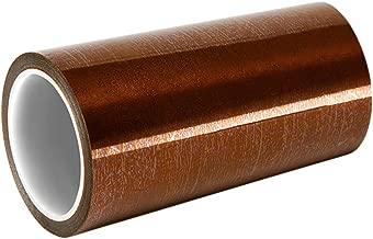 1/mil Lunghezza 0,6/cm larghezza Tapecase b-6/mm x 32,9/m Amber Polyimide//silicone 32,9/m 6800/resistenza tensione nastro adesivo in silicone