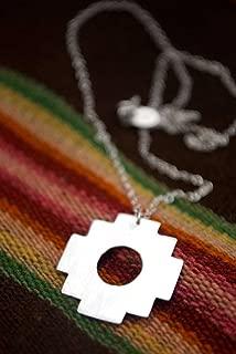 Chakana: Andean Inca Cross Necklace
