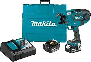 Makita XRT01TK 18V LXT Lithium-Ion Brushless Cordless Rebar Tying Tool Kit (5.0Ah)
