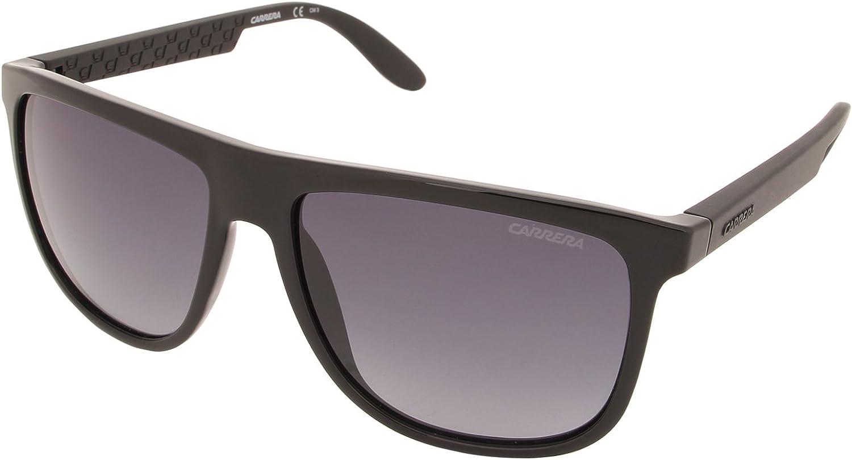 Carrera - Lunette de soleil 5003 Rectangulaire Noir (Black /Dark Grey)