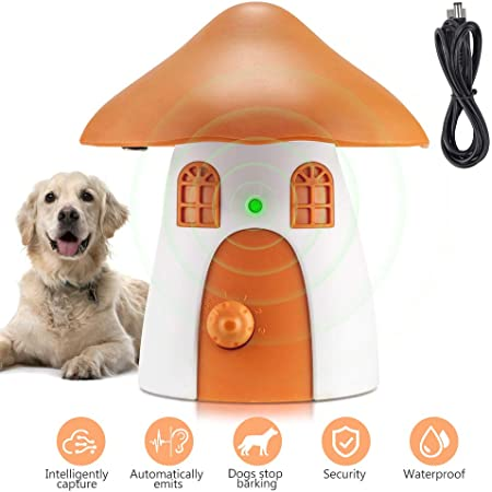 Au/ßen wasserdicht Harmloses Kein-Bellen-Trainerhalsband XIAXIA Anti-Hundebellen Anti-Bellger/ät mit Ultraschallger/ät zum Stoppen von Hunden /Überm/ä/ßiges Bellen