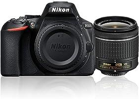 Nikon D5600 AF-P 18-55mm 3.5-5.6G VR Lens Kit, 24.2 MP DSLR Camera