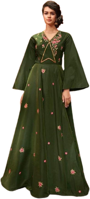 Indian Pakistani Muslim 2021new shipping free Women Party Free shipping Long Sleeves Bell Wear Anark