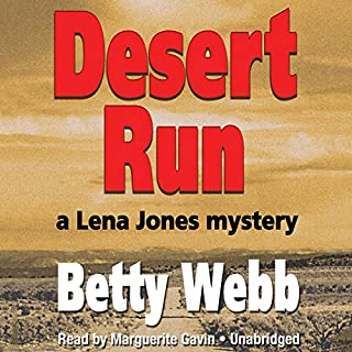 Desert Run audiobook cover art