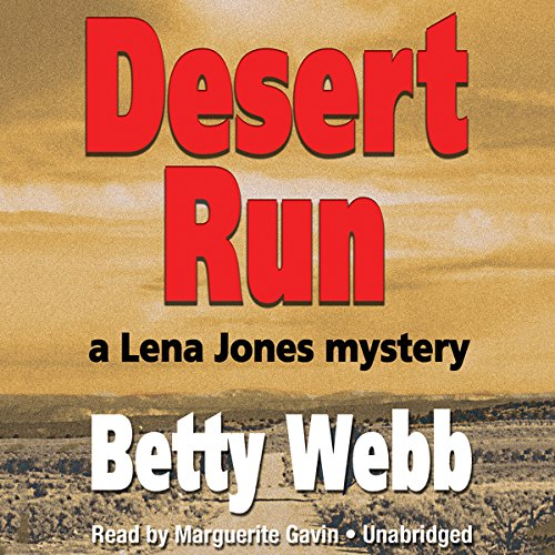 Desert Run audiobook cover art